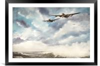 The Long Flight Home, Framed Mounted Print
