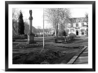 Library in Uppermill, Framed Mounted Print