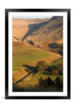 BINN GREEN IN SADDLEWORTH, Framed Mounted Print