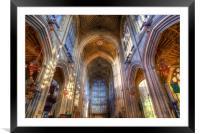 Bath Abbey, Framed Mounted Print