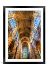 Bath Abbey England, Framed Mounted Print