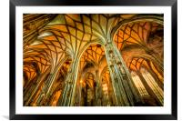 St Stephens Cathedral Vienna Art, Framed Mounted Print