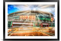 Arsenal Emirates Stadium , Framed Mounted Print
