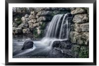 THE MOTE FALLS, Framed Mounted Print