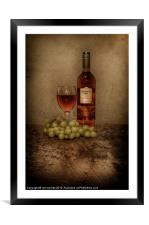 GOOD WINE, Framed Mounted Print