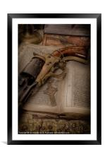 MY FAITH WILL PROTECT ME, Framed Mounted Print