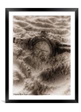 SANDS OF TIME, Framed Mounted Print