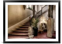 THE GRAND STAIRCASE, Framed Mounted Print
