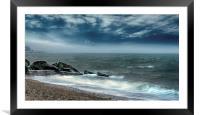 BOGNOR BEACH, Framed Mounted Print