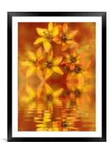 ripples, Framed Mounted Print