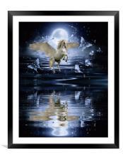 fantasy, Framed Mounted Print