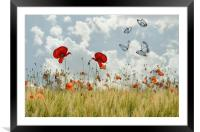spring is in the air, Framed Mounted Print