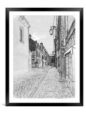 Ah France , Framed Mounted Print