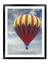 High Flyer , Framed Mounted Print
