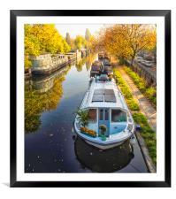 Little Venice London, Framed Mounted Print