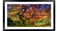 Tree of Life, Framed Mounted Print