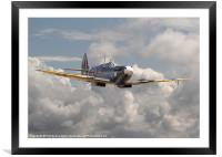 Spitfire - portrait of an icon, Framed Mounted Print
