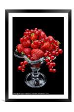 Summer Fruits, Framed Mounted Print
