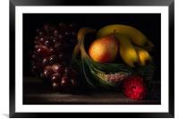 Fruit Still Life 2, Framed Mounted Print