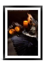 Halloween is Coming, Framed Mounted Print