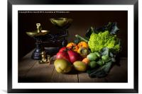 The Greengrocer, Framed Mounted Print