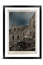 Tintern Abbey, Framed Mounted Print