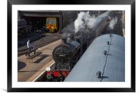 Steam Train 44422, Framed Mounted Print