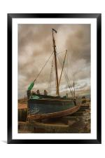 The Edith May, Framed Mounted Print