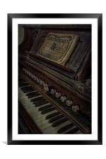 Voluntaries On The Organ, Framed Mounted Print