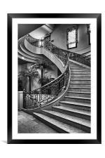 Spanish Stairs, Framed Mounted Print