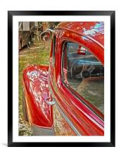 Ready to Drive, Framed Mounted Print