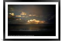 Days End, Framed Mounted Print
