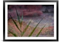 In the Distance is the Season, Framed Mounted Print
