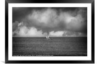 Sail Away, Framed Mounted Print