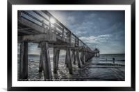 Sun and Fun in Naples Florida, Framed Mounted Print