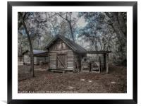 Tool Shed, Framed Mounted Print