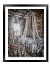 Night Protection, Framed Mounted Print