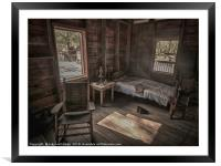 Ghostly Past, Framed Mounted Print
