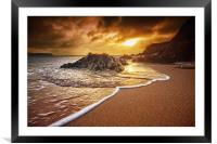 Breakthrough at Leas Foot, Framed Mounted Print