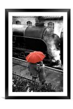 Brief Encounter, Framed Mounted Print