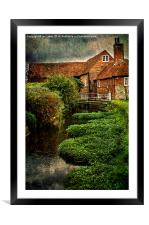 The Old Mill At Bosham, Framed Mounted Print