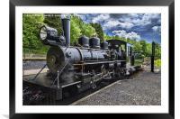 Baldwin Locomotive, Framed Mounted Print