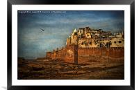 Essaouira , Framed Mounted Print