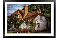 A Chiltern Cottage, Framed Mounted Print