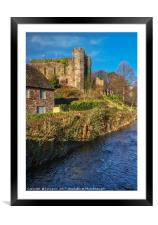 Brecon Castle, Framed Mounted Print