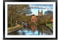 The Kennet and Avon at Newbury, Framed Mounted Print