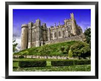 Arundel Castle, Framed Mounted Print