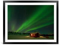 Aurora Magic, Framed Mounted Print