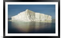 Iceberg Ross Sea Antarctica, Framed Mounted Print