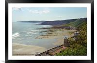 Scarborough Beach, Framed Mounted Print